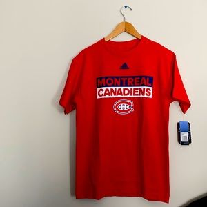 BRAND NEW ADIDAS CANADIENS OF MONTREAL T-SHIRT